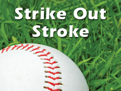 strike out stroke and baseball